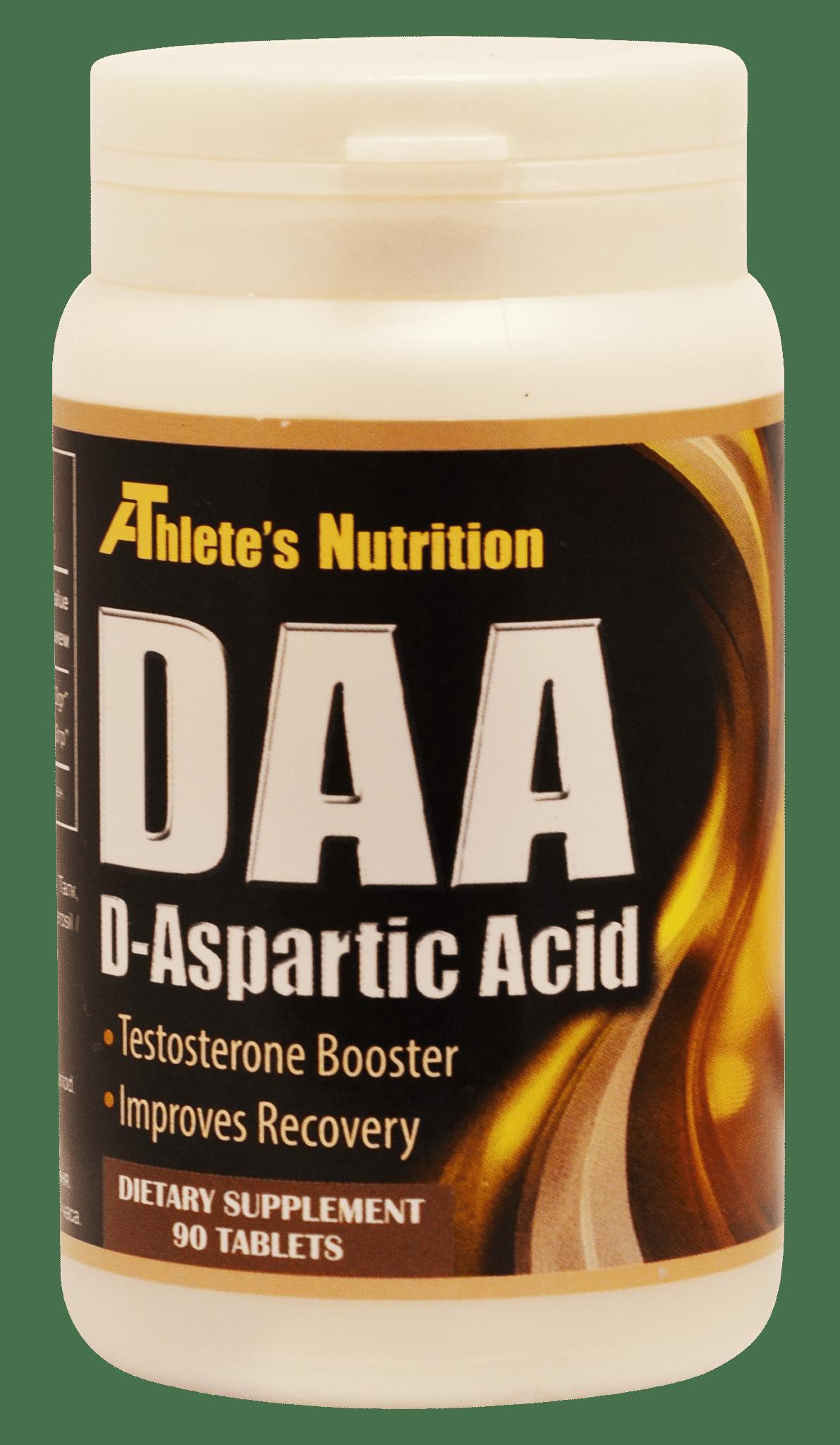 DAA D-aspartic acid 90таб/90г